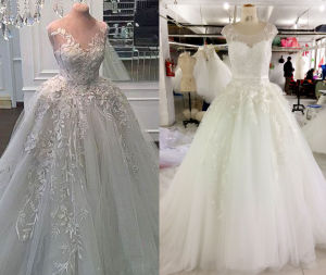 Ball Gown Thicker Wedding Dress with Inner Petticoat pictures & photos