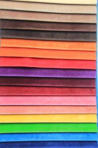 Polyester Upholstery Textile Woven Window Curtain Sofa Velvet Fabric