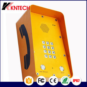 Heavy Duty Area Waterproof Phoneoutdoor Sos Telephone with Rubost Handset Knzd-09A pictures & photos