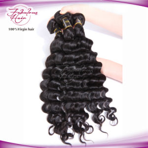 Raw Unprocessed Virgin Hair Mongolian Loose Curly Hair Weaving pictures & photos