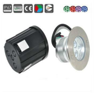 IP67 3W LED Deck Light, Underground Lighting, Floor Light pictures & photos