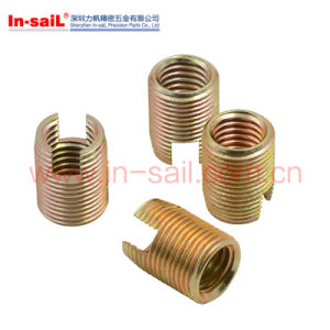 L302 Inch Thread M6 Carbone Steel Self Threading Insert Nut pictures & photos