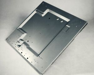 Galvanized Sheet Metal Parts/Cabinets Enclosure CNC/Metal Plate Fixing/Sheet Metal Fabrication Stamping Bending/Metal Sheet Fabrication pictures & photos