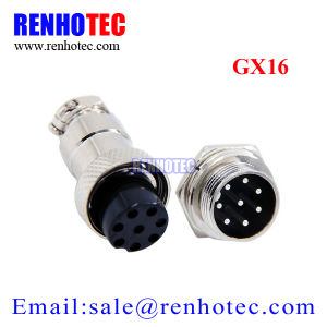 M16 8p Metal Circular Wire Connector Gx16 Aviation Plug and Socket pictures & photos