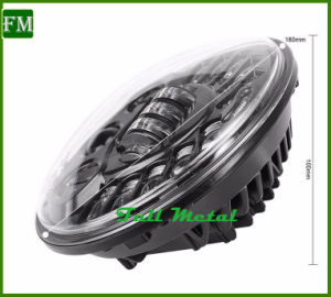 DOT Emark Approved 7inch Chromed Headlight for Jeep Wrangler pictures & photos