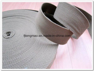 High Quality Grey Cotton Webbings pictures & photos