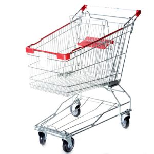 Asian Style Shopping Trolley on Wheels pictures & photos
