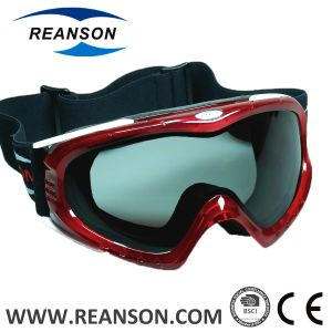 Reanson Professional Anti-Fog Anti-Scratch Double Lenses Snowboard Goggles pictures & photos