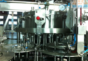 Glass Bottle Crown Cap Carbonated Drink Filling Machine pictures & photos