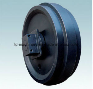 E230 E320 Ex300-5 Undercarriage Parts Front Idler Assembly for Excavator pictures & photos