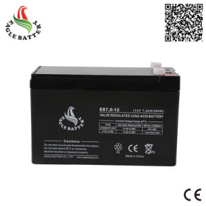 12V 7ah VRLA Rechargebale Lead Acid Mf Battery for UPS