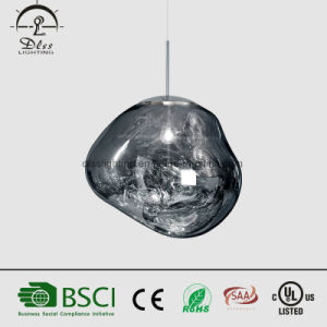 Modern Indoor Decoration Acrylic Hanging Lighting Melt Gold Pendant LED Lamp pictures & photos