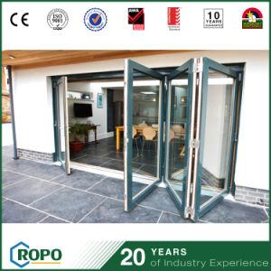 Plastic Hurricane Impact Bi Fold Glass Patio Door pictures & photos