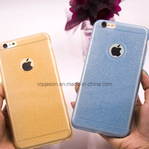 Ultra Thin Sparkle Bling Glitter Silicon Soft Cell Phone Case for iPhone 6/6s/6 Plus pictures & photos