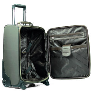 "Low MOQ Oxford Fabric 18"", 20"", 24"", 28"" Universal Wheels Travel Luggage Bag, Custom Make Trolley Case for Trip"