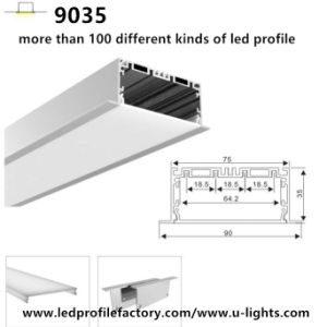 9035 OEM LED Channel Aluminium Extrusion LED Aluminium Profile pictures & photos