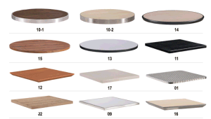 HPL Laminated Table Top pictures & photos