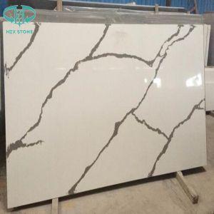 Quartz/Artifical/White/Black/ Grey/ Beige Quartz Stone Slab for Kitchen Countertop pictures & photos