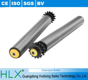Gravity Conveyor Roller in Hlx pictures & photos