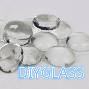 Clear Color Gem Flat Glass Marbles pictures & photos