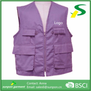 New Design 100% Polyester Working Tool Vest pictures & photos