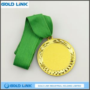 Hot Selling Engraving Gold Medal Custom Blank Medal Souvenir pictures & photos