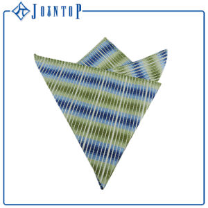 Bright Colors 100% Polyester Woven Handkerchief for Man pictures & photos