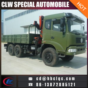 Dongfeng Military 6X6 7ton Truck Crane pictures & photos