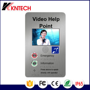 Door Phone with LCD Display Knzd-60 Kntech pictures & photos