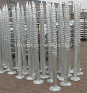 Best Price Metal Ground Galvanized Screw Concrete Pole Anchor pictures & photos