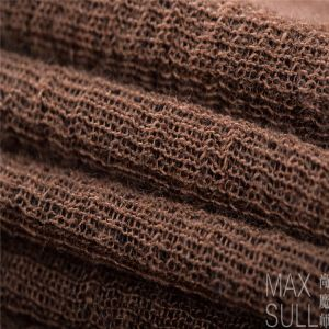 Wool/ Cotton /Acrylic Mixed Wool Fabric for Autumn in Brown pictures & photos