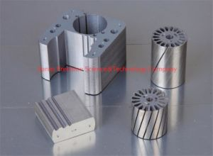 Permanent Magnet Motor Stator Rotor Laminated Cores pictures & photos
