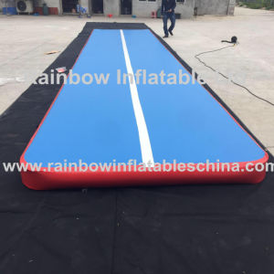 Hot Dwf Inflatable Gym Mattress Air Track with Logo/Inflatable Tumbling Mat pictures & photos