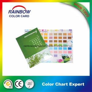 Customized Color Card for Wall Paper Coating pictures & photos