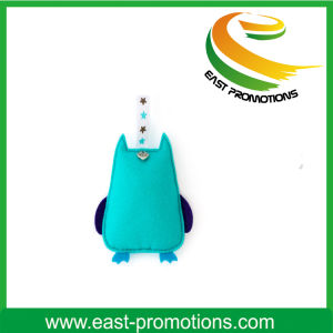 Custom Wool Felt Owl Keychain Eco-Friendly Gift Toy pictures & photos
