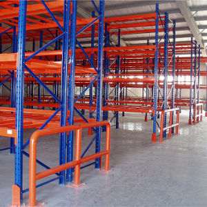 Safety Barrier for Warehouse Racking Protection pictures & photos