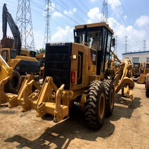 Sell Cat Brand Motor Grader Caterpillar Road Machinery Road Grader 140k 140h pictures & photos