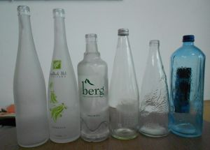 350ml/500ml Drinking Water Glass Bottle pictures & photos