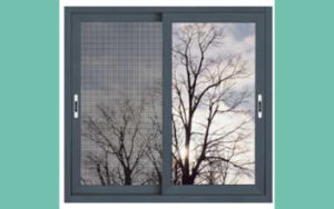 Hot Seller Double Tempered Glass Aluminum Sliding Window pictures & photos