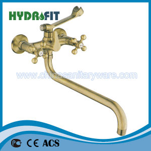 New Brass Basin Mixer (FT202-111) pictures & photos