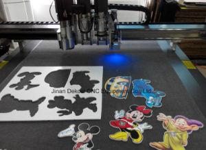 Digital Sticker Cutting Plotter Adhesive Vinyl Magnetic Film Oscillation Cutter Machine Supplier pictures & photos