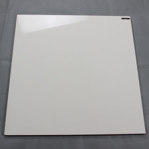 Promotion Cheap Price Super White Half Body Polished Porcelain Floor Tile for Interior pictures & photos