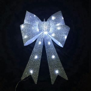 Wholesale Cheap Giant Christmas Bow LED Light Christmas Bow pictures & photos