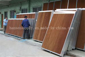 Poultry Cooling Pad and Fan Wet Cellulose Evaporative Cooling Pad pictures & photos