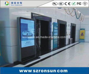 42inch 55inch Floor Standing High Definition Touch Screen LCD Advertising Display pictures & photos