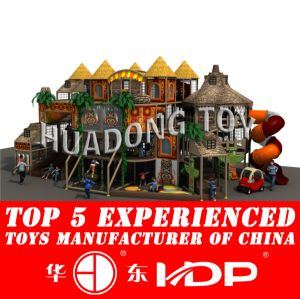 Huadong Indoor Playground New Style Ancient Tribe (HD2015B-010A) pictures & photos