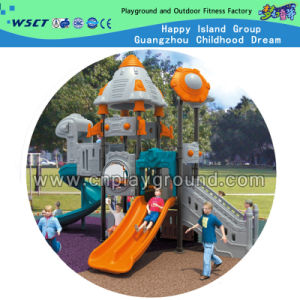 Small Size Outer Space Outdoor Plastic Playground (HD-701) pictures & photos