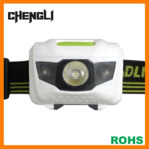 60lumens 1watt+2red LED Headlamp (LA1218A)