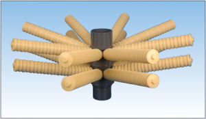 Top and Bottom Water Distributor for FRP Vessel/FRP Accessories pictures & photos