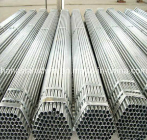 Hot DIP Galvanized Steel Pipes Used in Building Structure pictures & photos